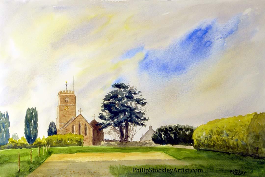 Church at Weston Under Penyard
