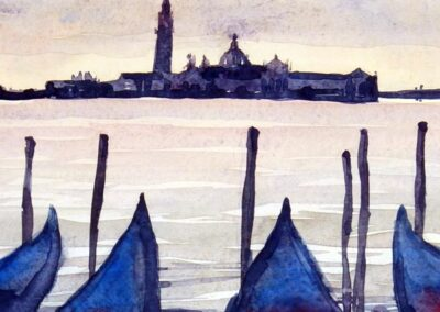 Venice – looking towards the Church of San Giorgio Maggiore