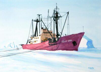 Nella Dan – scientific explorer ship